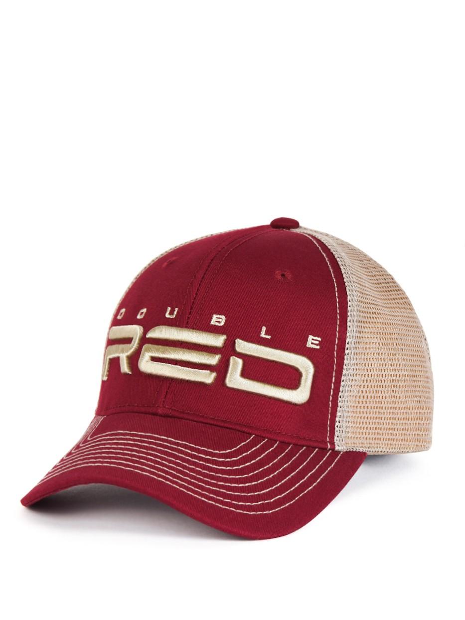 DOUBLE RED Airtech Mesh Cap Bordeaux/Sand