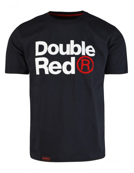 DOUBLE RED Trademark T-shirt Dark Grey