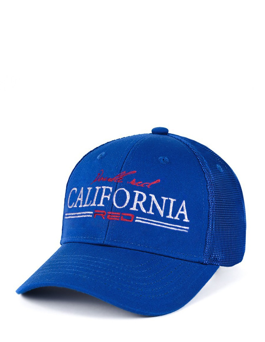 CALIFORNIA RED Cap Blue