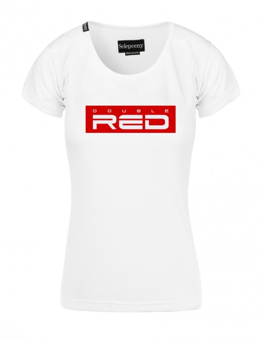 T-shirt DOUBLE RED All Logo By Selepceny