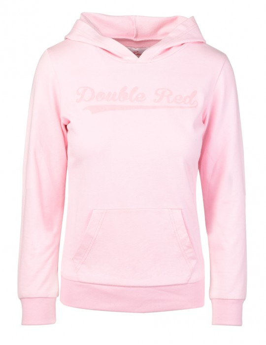 Pink Hoodie DOUBLE RED