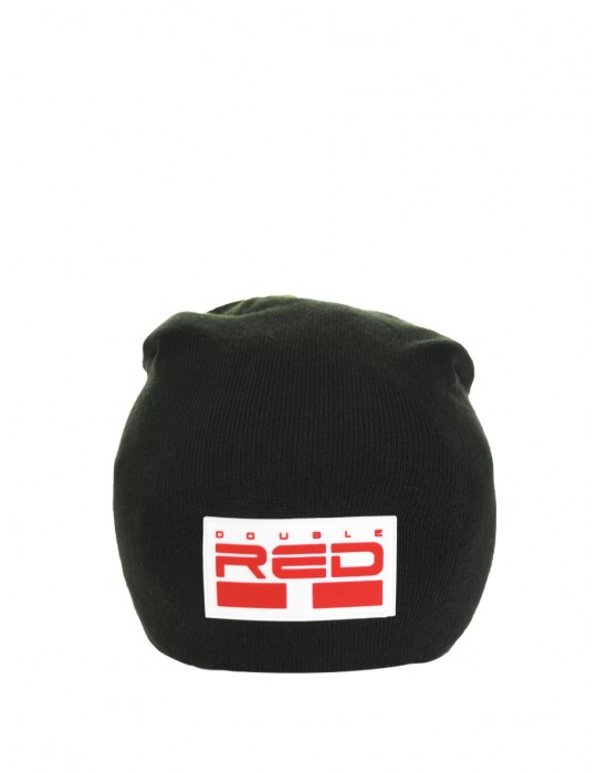 DNA RED BEANIE Black