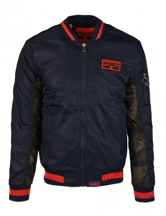 Street Hero Bomber Jacket Blue