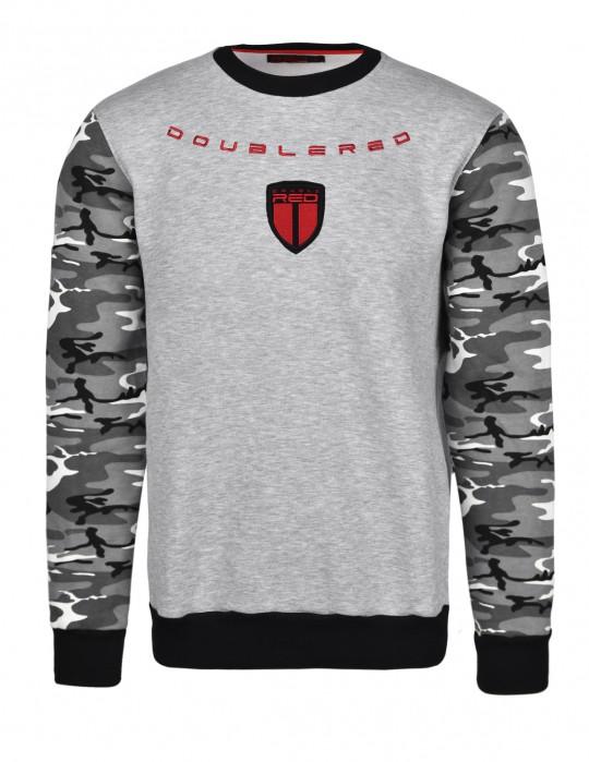 Soldier Sweatshirt Grey/Camo