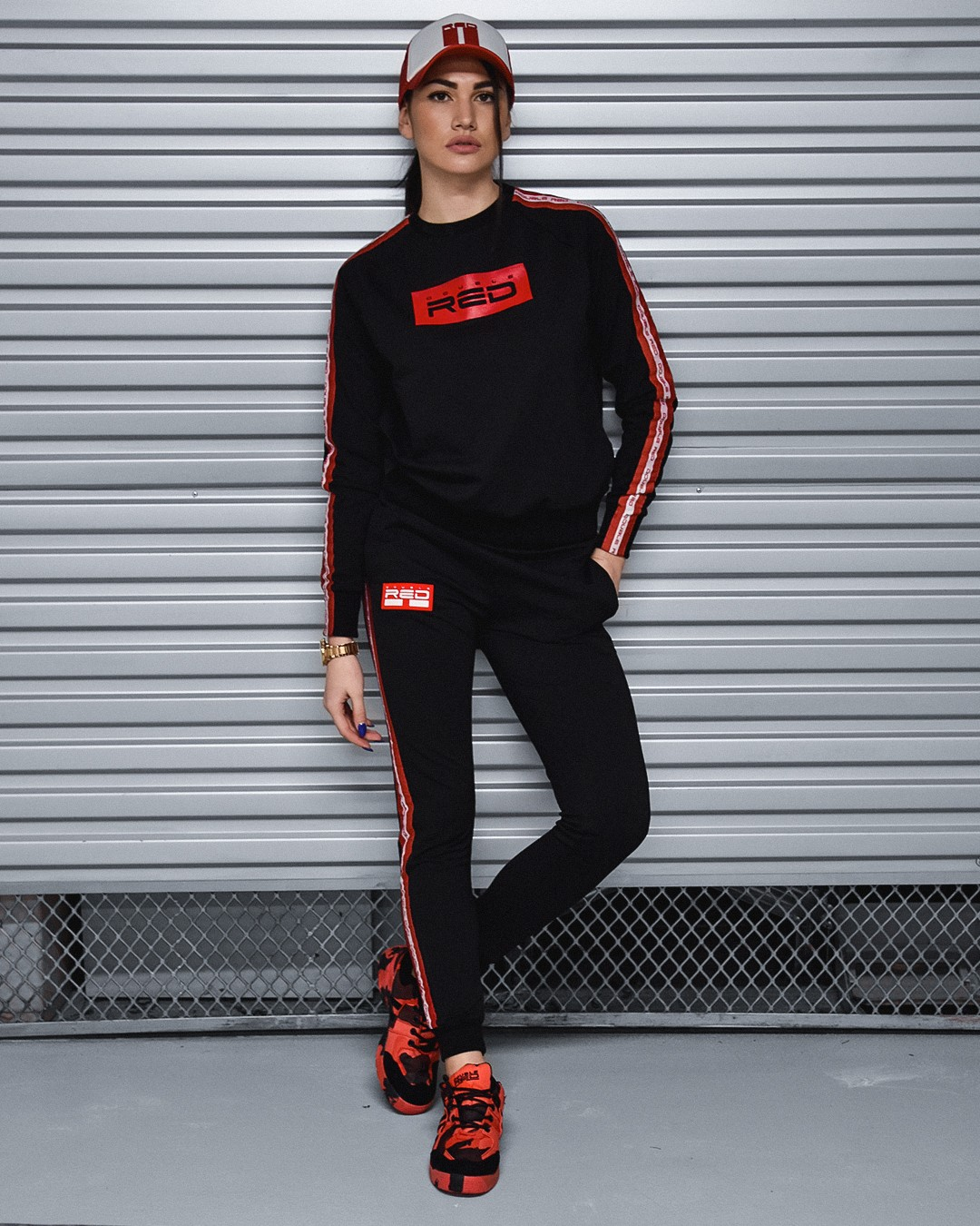 Sweatpants EMINENCE All Logo Black