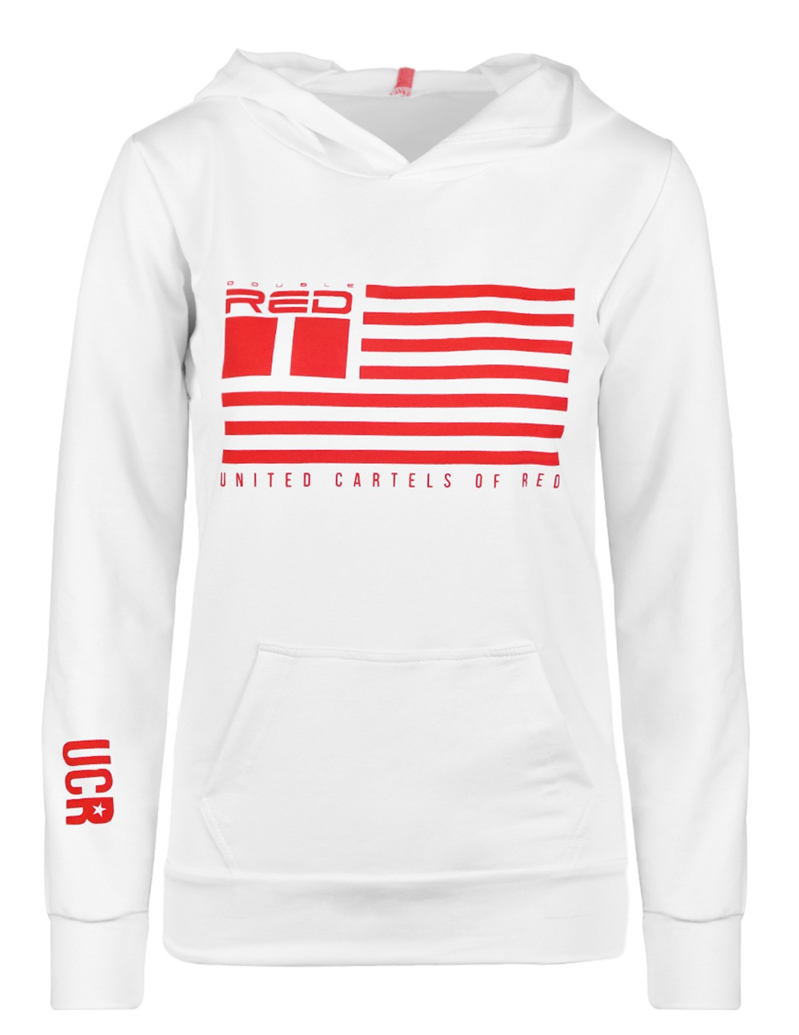 United Cartels Of Red UCR White Hoodie