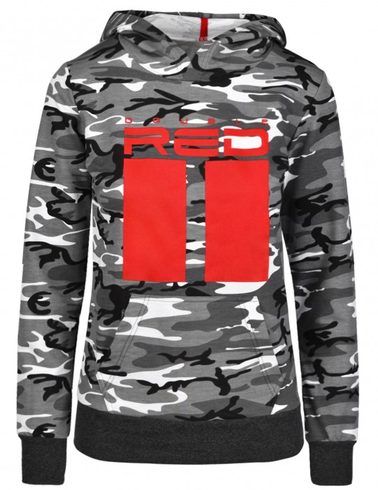 Sweatshirt All Logo B&W Camo