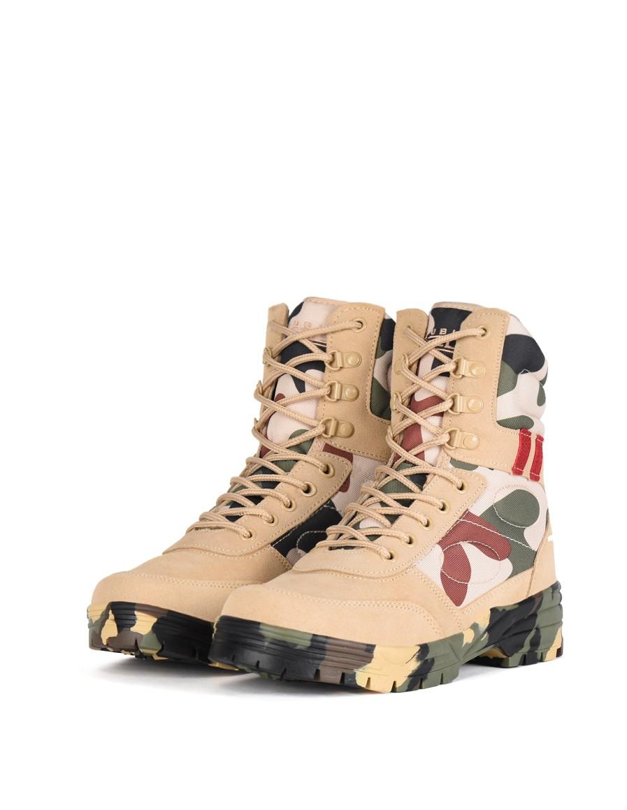 497fc3f4c9bd Vysoká celoročná outdoor obuv pre milovníkov army štýlu