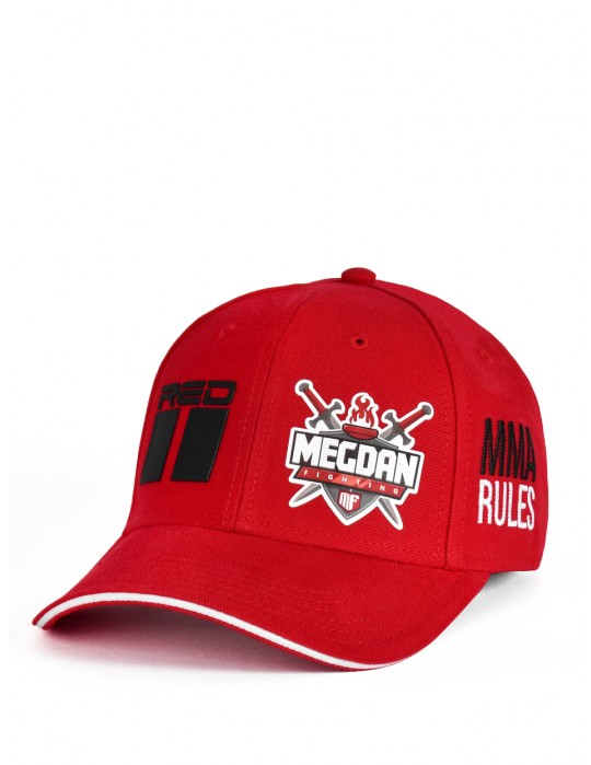 MMA RULES Megdan Fighting Cap Red