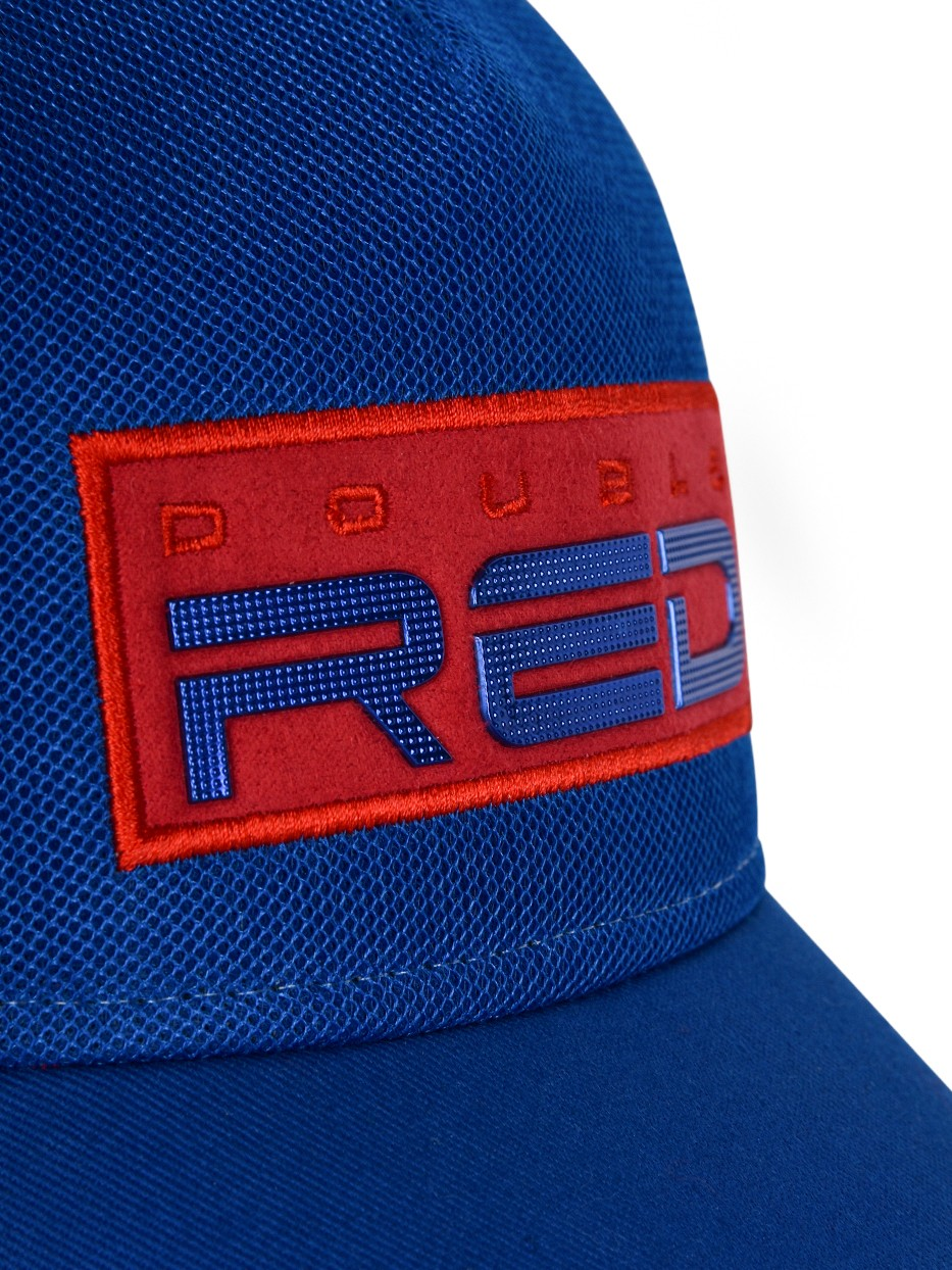 DOUBLE RED EXQUISIT Cap Bue