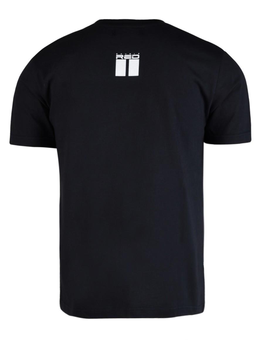 DOUBLE RED Trademark T-shirt Dark Black SLIM FIT