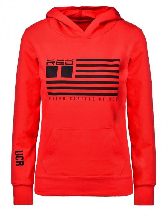 United Cartels Of Red UCR Red Sweatshirt