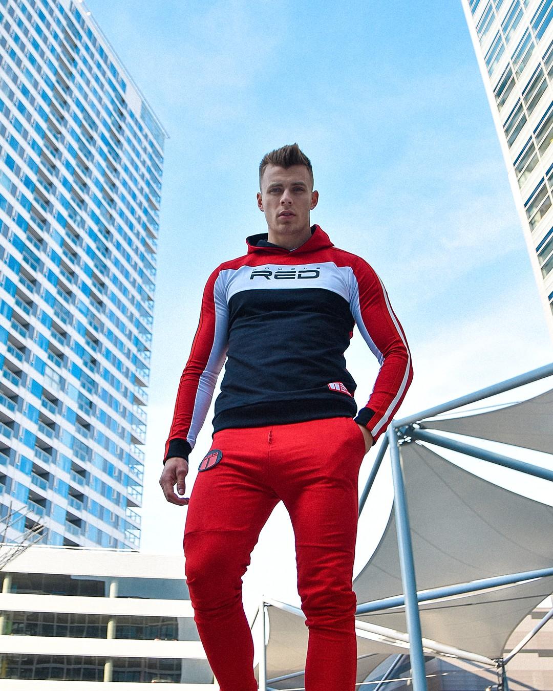 Sweatshirt OUTSTANDING Red/Black