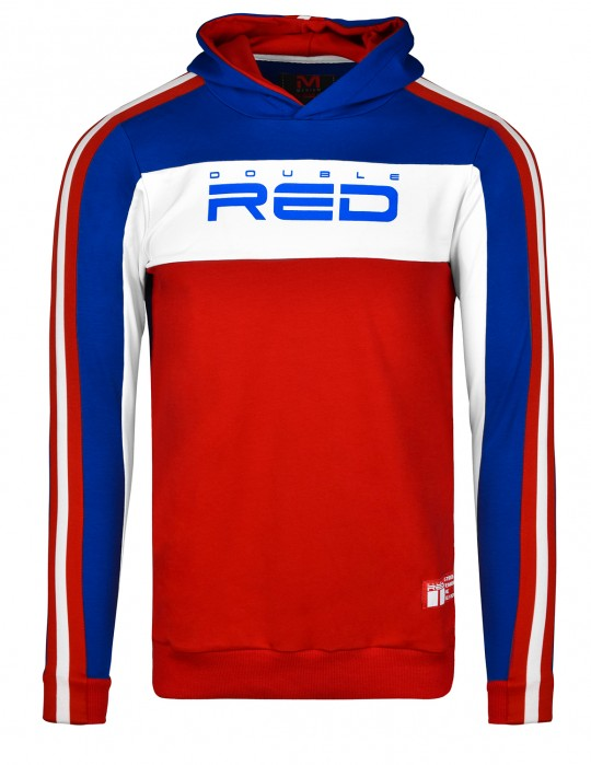 Sweatshirt OUTSTANDING Blue/Red