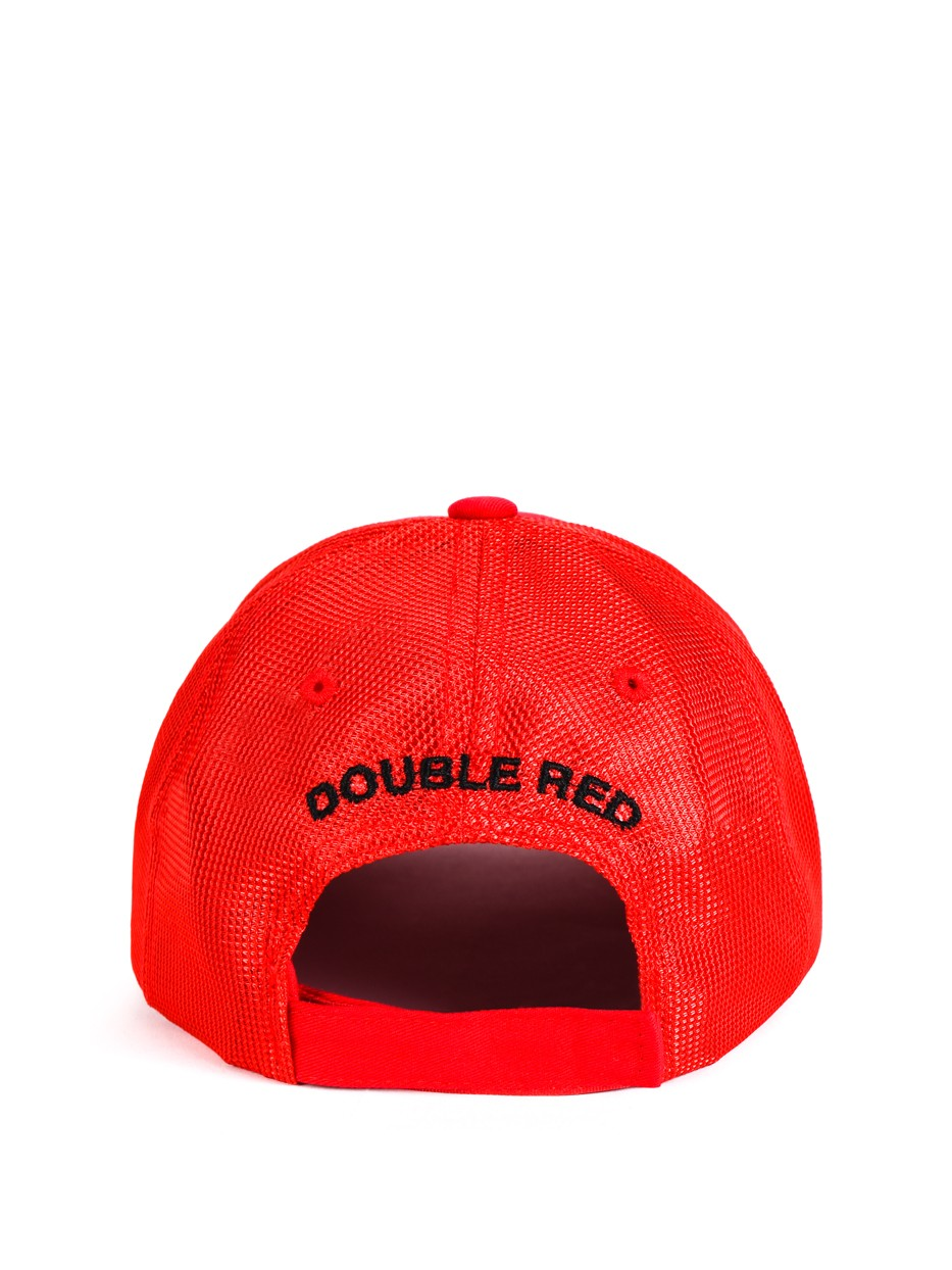 DOUBLE RED 3D Red Cap