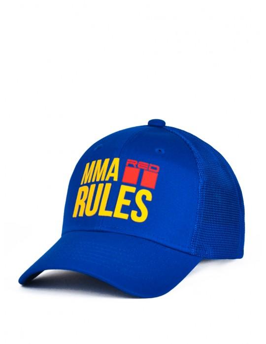 MMA RULES Blue Cap