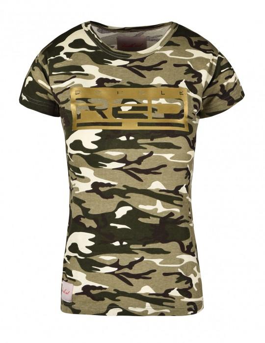 89492eb9f0b7 T-Shirt GOLDFOREVER Green Camo