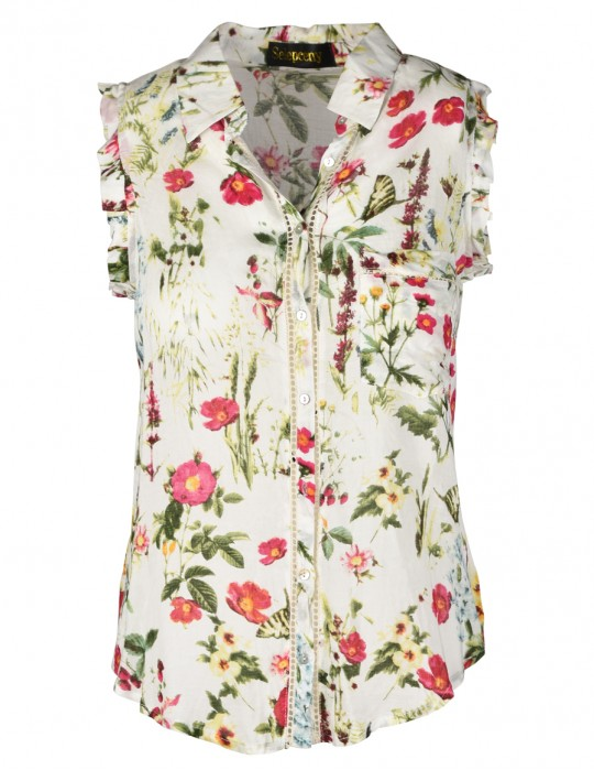 SELEPCENY FLOWERS SHIRT