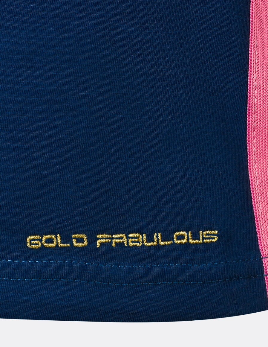 T-Shirt GOLD FABULOUS Blue