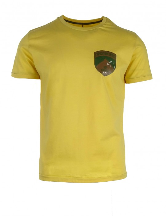 Žlté tričko Expedition Spirit