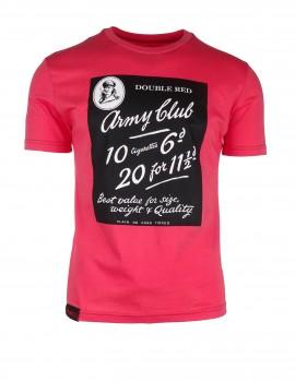 Lososové tričko Army Club