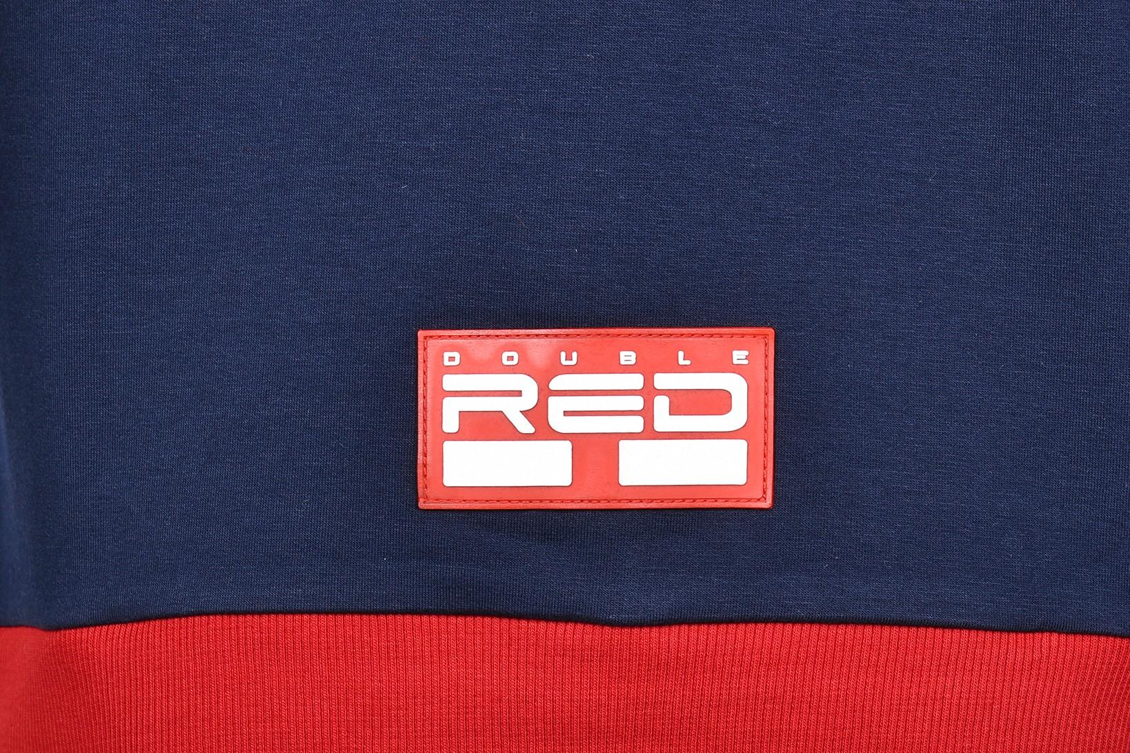 Sweatshirt OUTSTANDING Dark Blue/Red
