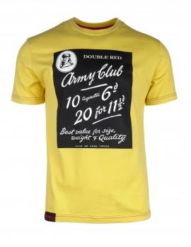 Žlté tričko Army Club