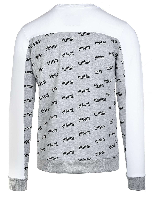 Sweatshirt UTTER FULL LOGO White/Grey