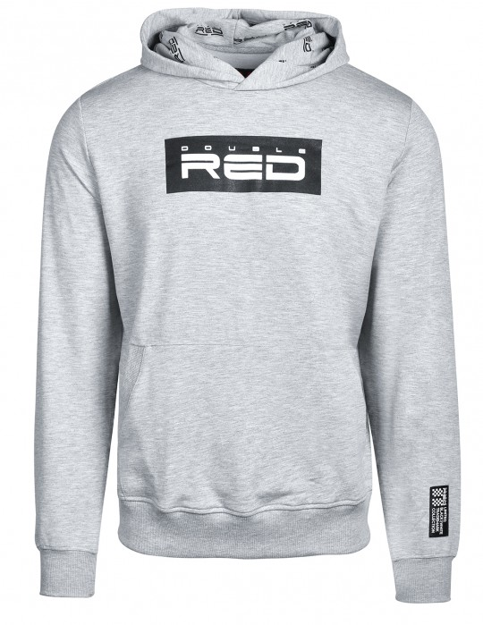 RED Hoodie Black&White Collection Grey