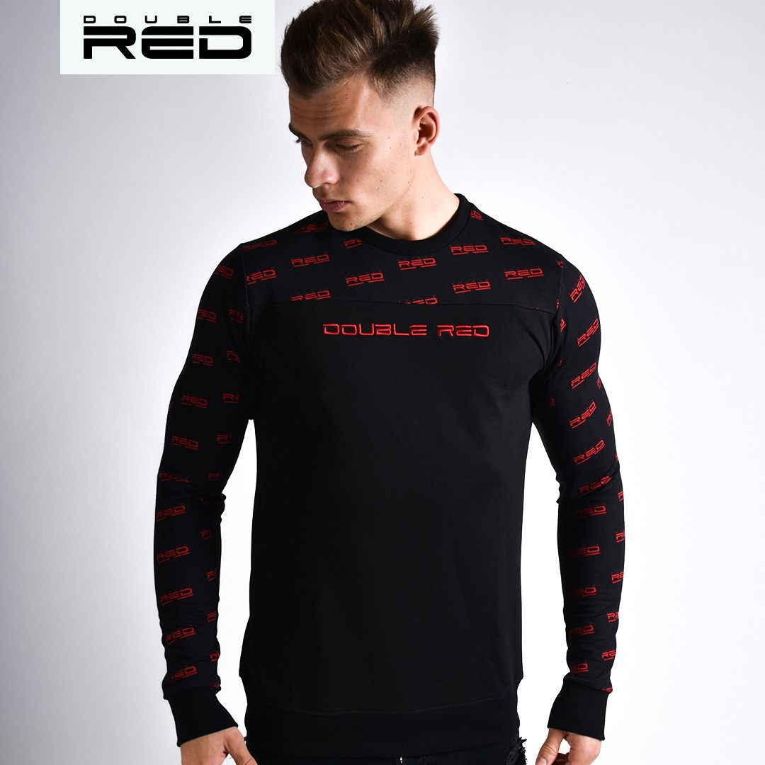 Sweatshirt UTTER  FULL LOGO Black
