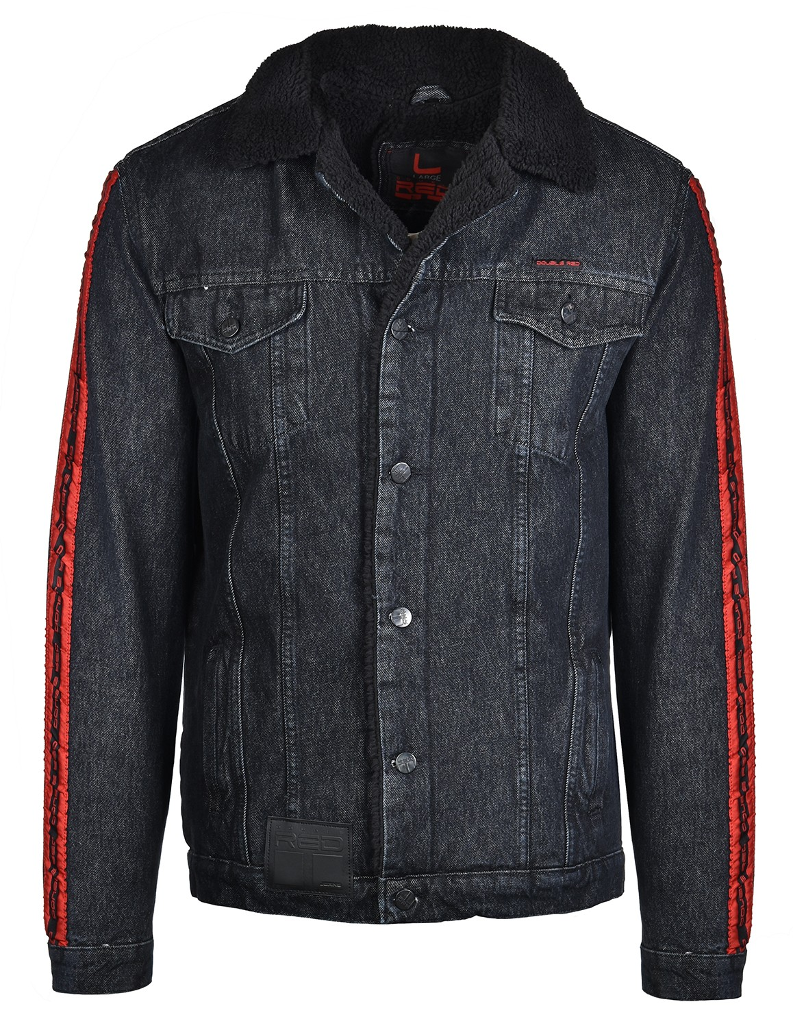 RED JEANS Fly Jacket Black