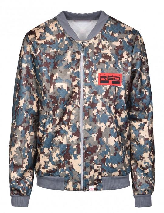 DIGITAL CODE Bomber Jacket