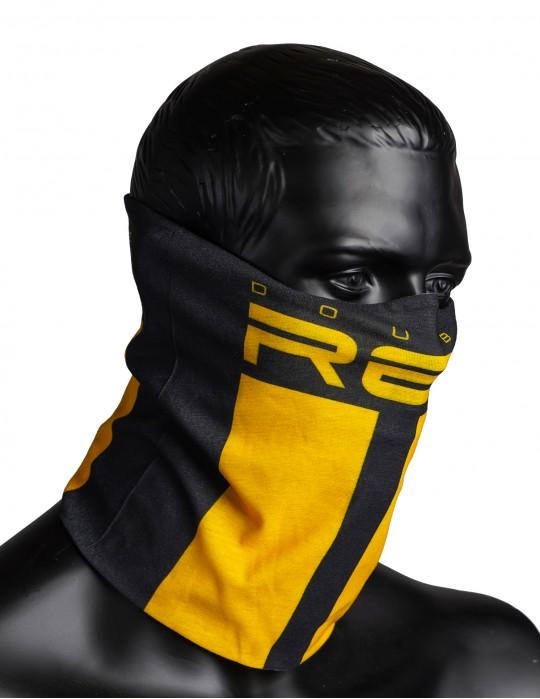 RED SQUAD Snood Black&Yellow