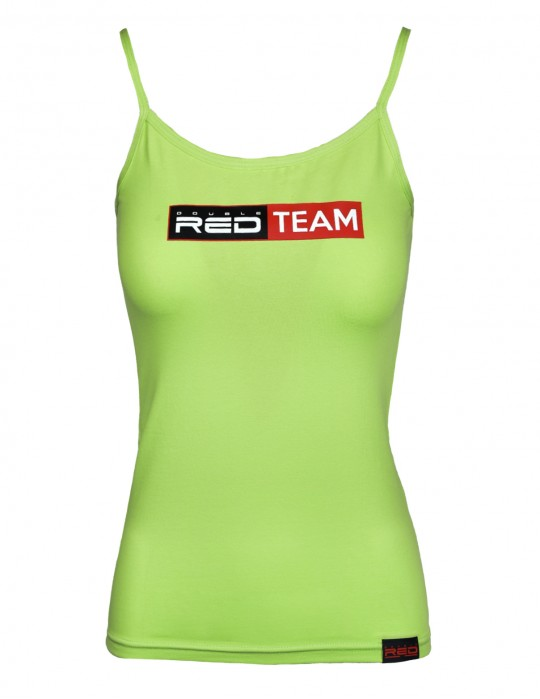 RED TEAM Tank Top  Green