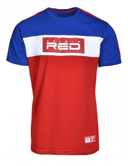 T-Shirt OUTSTANDING Blue/Red