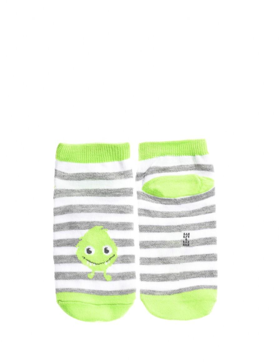 KID Fun Socks Green Monster