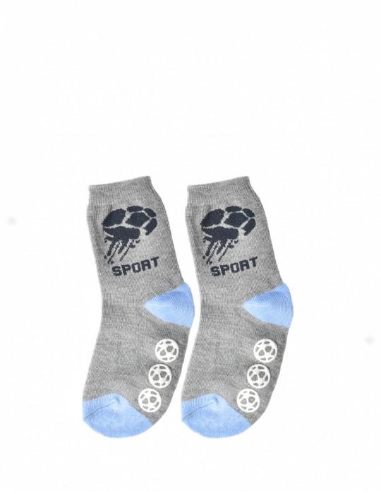 KID Fun Socks Sport Grey/Blue