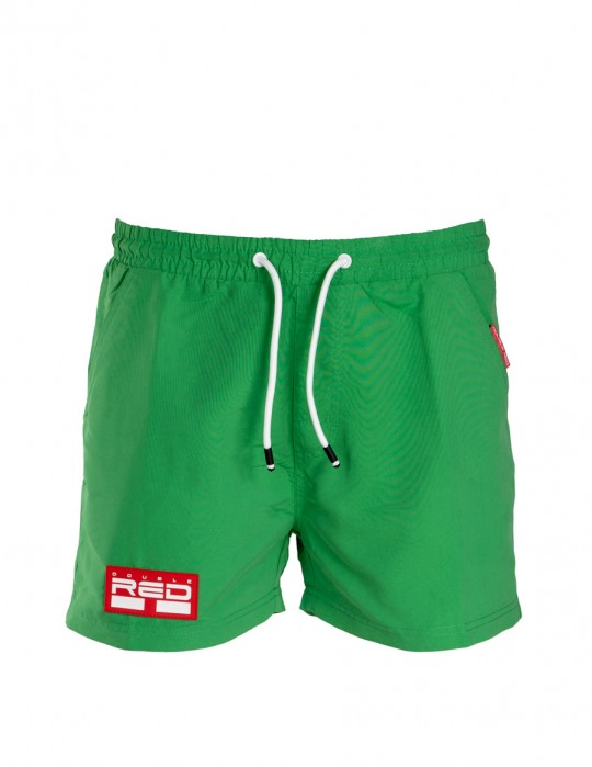 DOUBLE RED Aqua Swimshorts Green