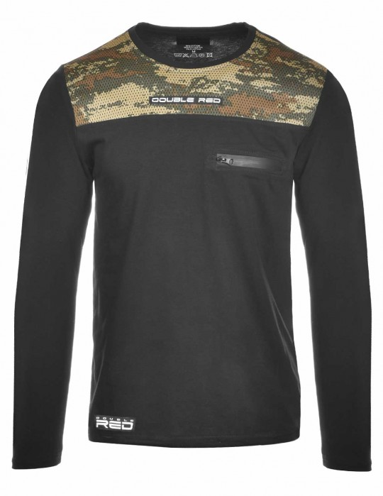 Hero Long Sleeve Camo Edition Black