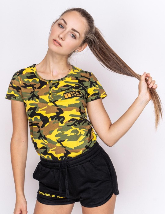 T-Shirt Camodresscode Kung Fu Master Yellow