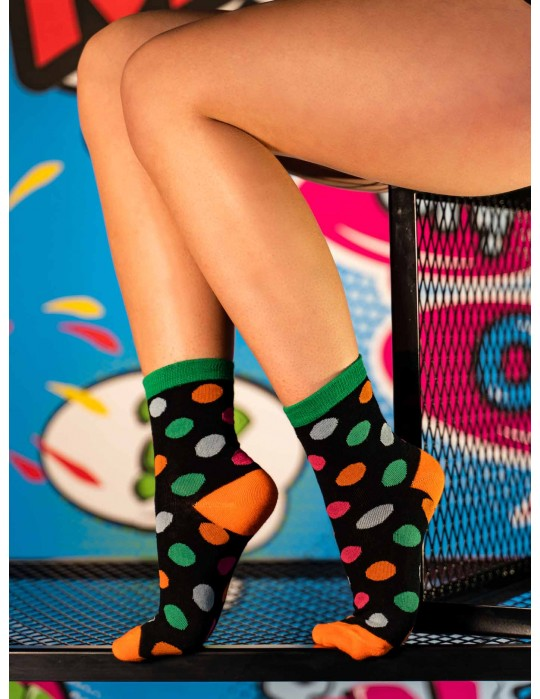 Women's FUN Socks Colorful Bubles